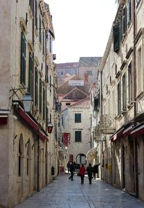 Dubrovnik calle general placa